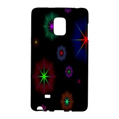 Star Space Galaxy Rainboiw Circle Wave Chevron Galaxy Note Edge by Mariart