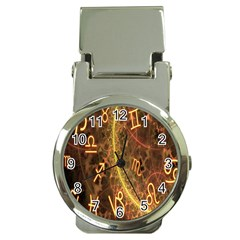 Romance Zodiac Star Space Money Clip Watches by Mariart