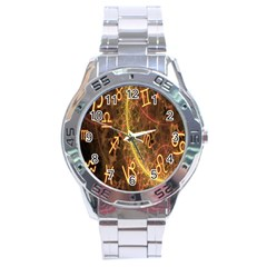 Romance Zodiac Star Space Stainless Steel Analogue Watch by Mariart
