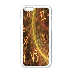 Romance Zodiac Star Space Apple Iphone 6/6s White Enamel Case by Mariart