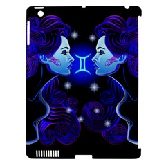 Sign Gemini Zodiac Apple Ipad 3/4 Hardshell Case (compatible With Smart Cover) by Mariart