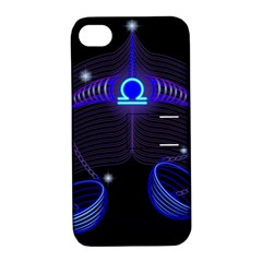 Sign Libra Zodiac Apple Iphone 4/4s Hardshell Case With Stand by Mariart
