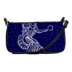 Virgo Zodiac Star Shoulder Clutch Bags by Mariart