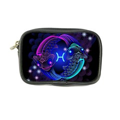 Sign Pisces Zodiac Coin Purse by Mariart