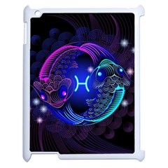 Sign Pisces Zodiac Apple Ipad 2 Case (white) by Mariart