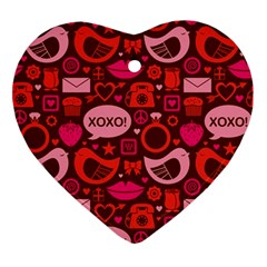 Xoxo! Ornament (heart) by Nexatart