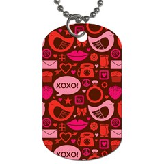 Xoxo! Dog Tag (two Sides) by Nexatart