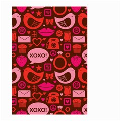 Xoxo! Small Garden Flag (two Sides) by Nexatart