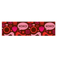 Xoxo! Satin Scarf (oblong)
