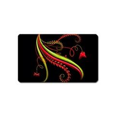 Cool Pattern Designs Magnet (name Card)