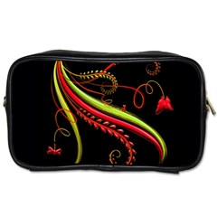 Cool Pattern Designs Toiletries Bags 2 Side by Nexatart