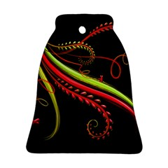 Cool Pattern Designs Bell Ornament (two Sides) by Nexatart