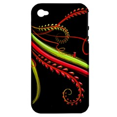 Cool Pattern Designs Apple Iphone 4/4s Hardshell Case (pc+silicone)