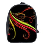 Cool Pattern Designs School Bags (XL)  Front
