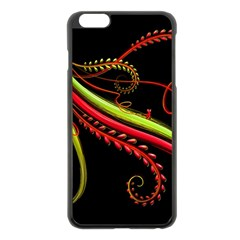 Cool Pattern Designs Apple Iphone 6 Plus/6s Plus Black Enamel Case by Nexatart