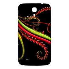 Cool Pattern Designs Samsung Galaxy Mega I9200 Hardshell Back Case by Nexatart