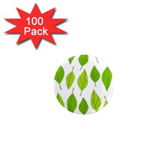 Spring Pattern 1  Mini Magnets (100 Pack)