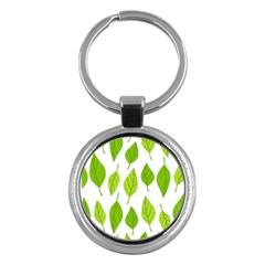 Spring Pattern Key Chains (round)  by Nexatart