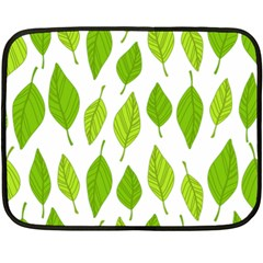 Spring Pattern Fleece Blanket (mini) by Nexatart