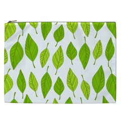 Spring Pattern Cosmetic Bag (xxl)  by Nexatart