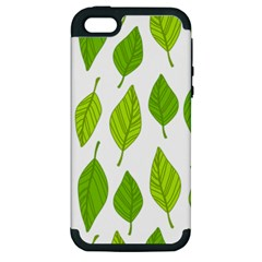 Spring Pattern Apple Iphone 5 Hardshell Case (pc+silicone)