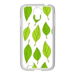 Spring Pattern Samsung Galaxy S4 I9500/ I9505 Case (white) by Nexatart