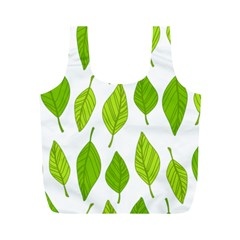 Spring Pattern Full Print Recycle Bags (m)