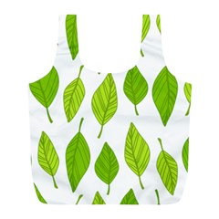 Spring Pattern Full Print Recycle Bags (l)  by Nexatart