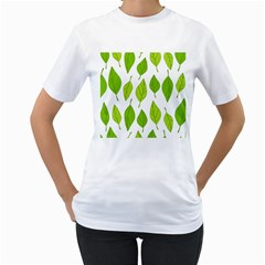Spring Pattern Women s T Shirt (white)