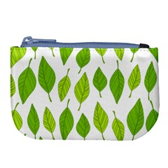Spring Pattern Large Coin Purse by Nexatart