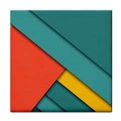 Color Schemes Material Design Wallpaper Face Towel by Nexatart