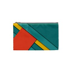Color Schemes Material Design Wallpaper Cosmetic Bag (small)  by Nexatart