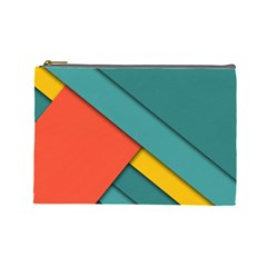 Color Schemes Material Design Wallpaper Cosmetic Bag (large)