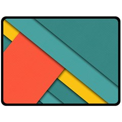 Color Schemes Material Design Wallpaper Fleece Blanket (large)