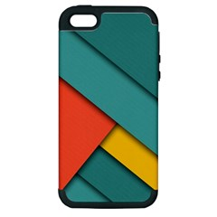 Color Schemes Material Design Wallpaper Apple Iphone 5 Hardshell Case (pc+silicone)