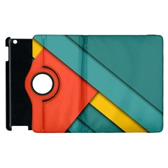 Color Schemes Material Design Wallpaper Apple Ipad 2 Flip 360 Case by Nexatart