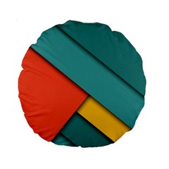 Color Schemes Material Design Wallpaper Standard 15  Premium Round Cushions