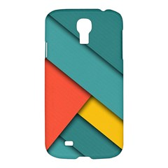 Color Schemes Material Design Wallpaper Samsung Galaxy S4 I9500/i9505 Hardshell Case by Nexatart