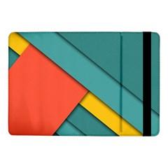 Color Schemes Material Design Wallpaper Samsung Galaxy Tab Pro 10 1  Flip Case by Nexatart