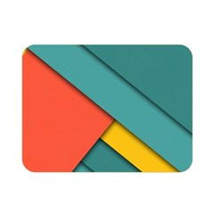 Color Schemes Material Design Wallpaper Double Sided Flano Blanket (mini)