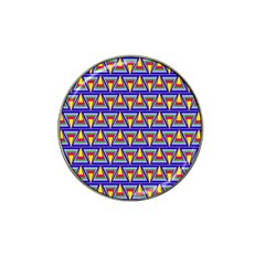Seamless Prismatic Pythagorean Pattern Hat Clip Ball Marker by Nexatart