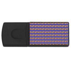 Seamless Prismatic Pythagorean Pattern Usb Flash Drive Rectangular (4 Gb) by Nexatart