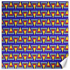 Seamless Prismatic Pythagorean Pattern Canvas 16  X 16   by Nexatart
