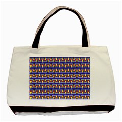 Seamless Prismatic Pythagorean Pattern Basic Tote Bag (two Sides)