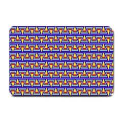 Seamless Prismatic Pythagorean Pattern Small Doormat