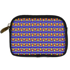Seamless Prismatic Pythagorean Pattern Digital Camera Cases by Nexatart