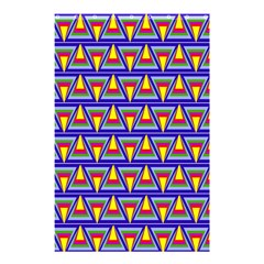 Seamless Prismatic Pythagorean Pattern Shower Curtain 48  X 72  (small)  by Nexatart