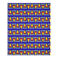 Seamless Prismatic Pythagorean Pattern Shower Curtain 60  X 72  (medium)