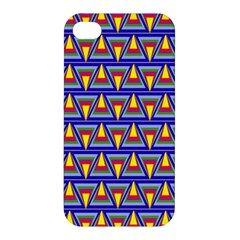 Seamless Prismatic Pythagorean Pattern Apple Iphone 4/4s Hardshell Case