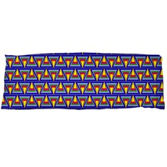 Seamless Prismatic Pythagorean Pattern Body Pillow Case (dakimakura)